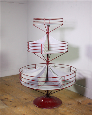 Revolving Storage Display Stand