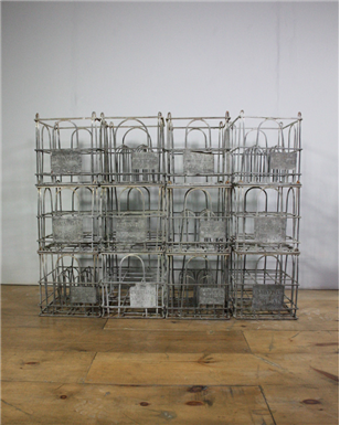 Metal Milk Crates