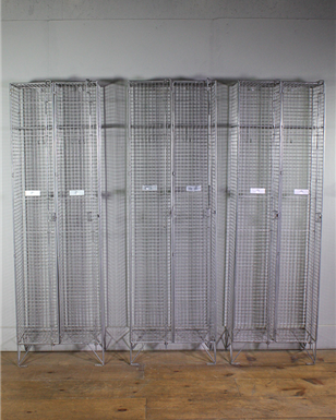 Wire Metal Lockers