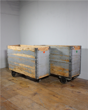 Wooden Box Carts