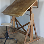 wooden architect table